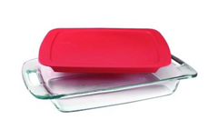 Pyrex® Glass Bake Dish, 3 Qt.