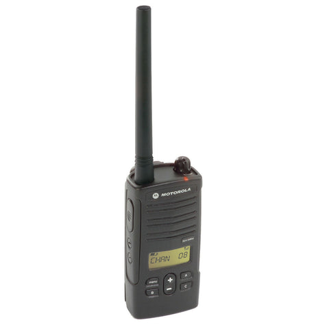 Motorola® RDX Series Two-Way VHF Radio, 2 Watt, 8 Channel