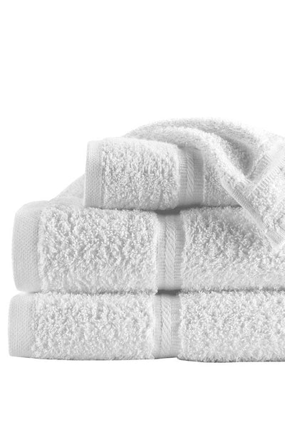 "Platinum Series Hand Towel White, 16"" x 30"""