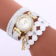 Load image into Gallery viewer, MINHIN Gold Crystal Rhinestone Bracelet - Bidwatch