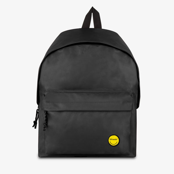 Basic Backpack Smiley Black