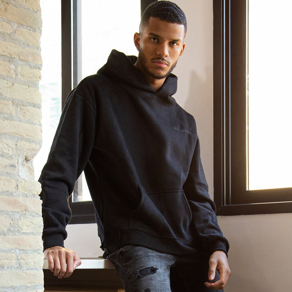 Hoodie Oversized D.Franklin Basic Black