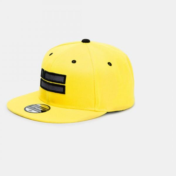 Yellow Chrome Snapback