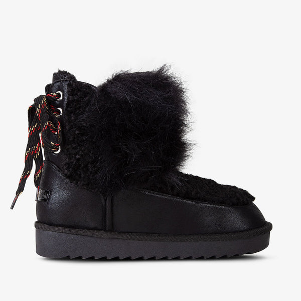 Nordic Bi-Fur Back Black