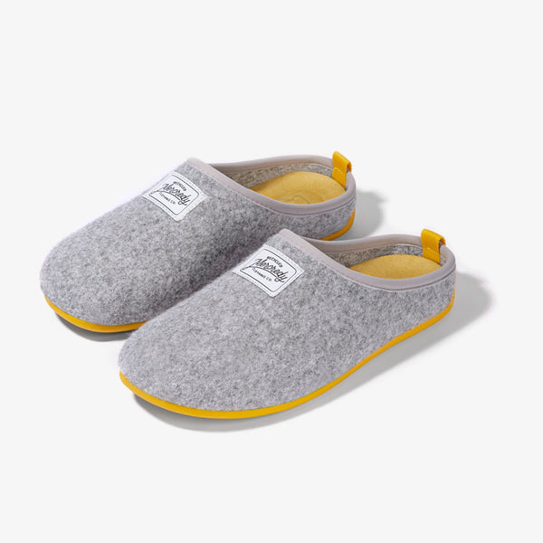 Mercredy Slipper Grey / Yellow