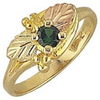 Black Hills Gold Birthstone Ring