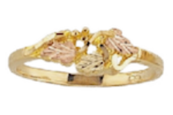 Black Hills Gold Leaf Ring (G1039)