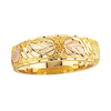 Black Hills Gold Men's Leaf Wedding Band (G10)