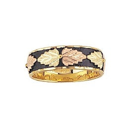 Black Hills Gold Ladies Antiqued Silver Band (MR1305ANT / G1305ANT)