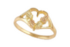 Black Hills Gold Heart Ring (G150)
