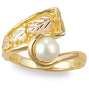 Black Hills Gold Pearl Ring