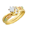 Black Hills Gold Diamond Engagement/Wedding Ring (G4LWR841SD)