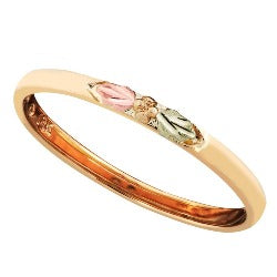 Black Hills Gold Smooth Stackable Ring (GL10026)