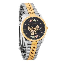 Black Hills Gold Mens Eagle Watch (2GLMWB531)