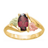 Black Hills Gold Alexandrite Ring (GSD1810JU)