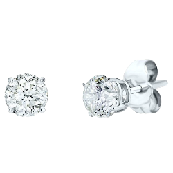 Simply Diamonds Stud Earrings - 1/10 CTTW (WHEA10BFRD-AA)