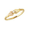 Black Hills Gold Diamond Ring (1/33 ct)
