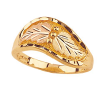 Black Hills Gold Leaf Ring