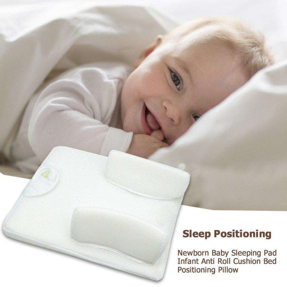 baby anti roll pillow