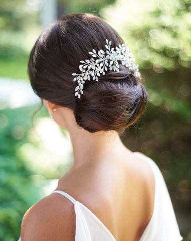 Classic Wedding Hair Comb (5331596902560)