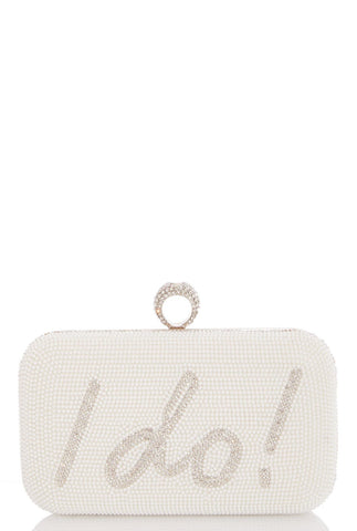 I DO bridal clutch