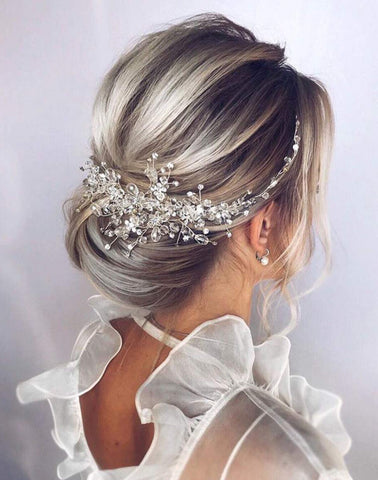 Crystal Bridal Hairpiece (5246214111392)