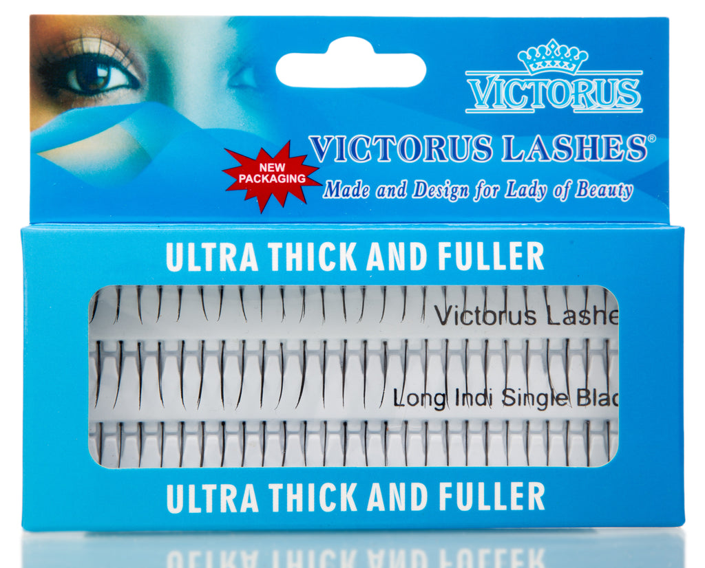 INDIVIDUAL SINGLE FALSE LASHES - victorusbeauty