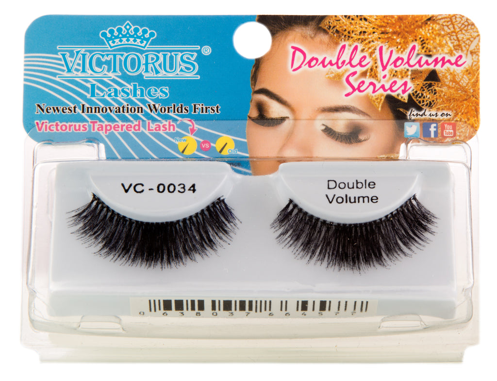 VC-0034 BLACK DOUBLE VOLUME - victorusbeauty