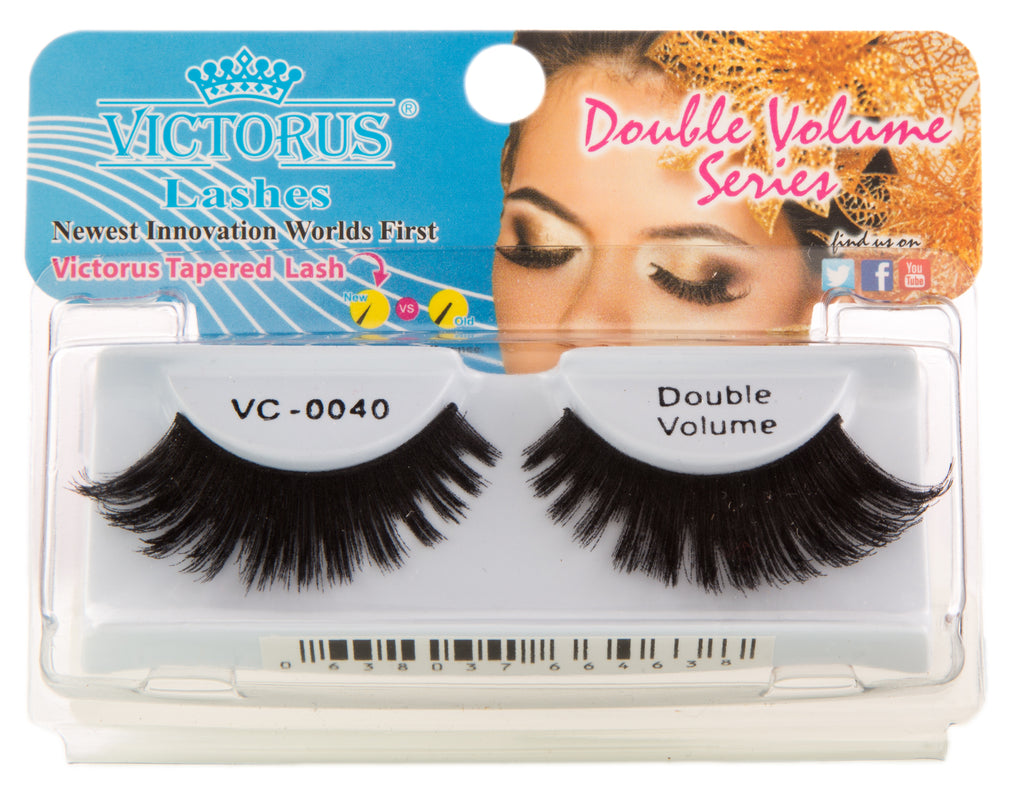 VC-0040 BLACK DOUBLE VOLUME - victorusbeauty