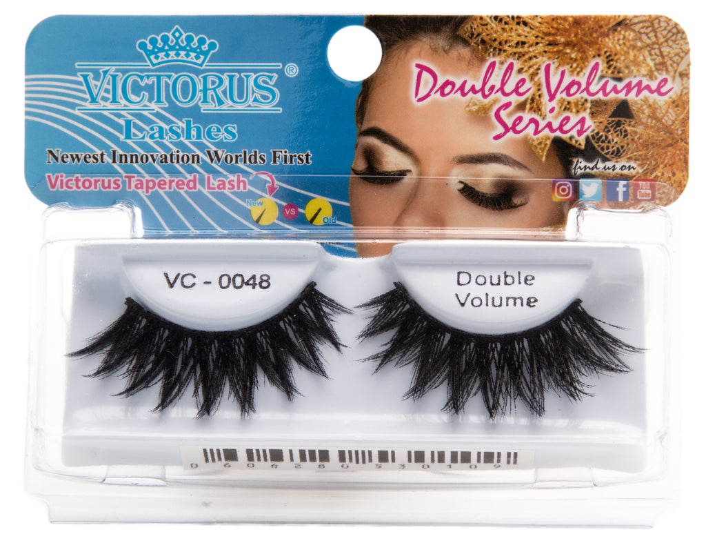 VC-0048 BLACK Double Volume - victorusbeauty