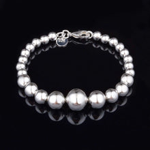 Load image into Gallery viewer, Silver Ball Bohemian Bracelet