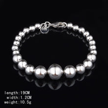 Load image into Gallery viewer, MADARI FASHIONS - Silver Ball Bohemian Bracelet