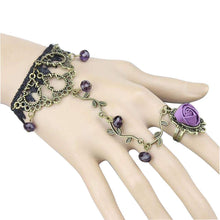 Load image into Gallery viewer, MADARI FASHIONS - Rose Ring Bracelets
