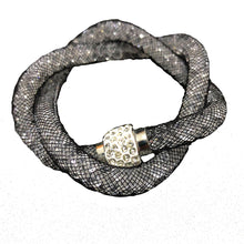 Load image into Gallery viewer, MADARI FASHIONS - Double Loop Mesh Stardust Bracelet