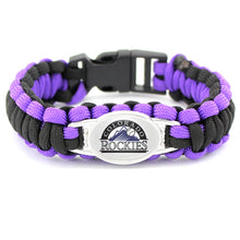 Load image into Gallery viewer, Colorado MLB Paracord Bracelet