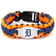 Load image into Gallery viewer, Detroit MLB Paracord Bracelet