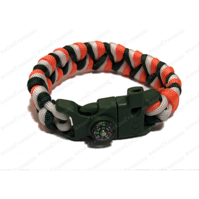 MADARI FASHIONS - Irish Paracord Bracelet