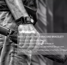 Load image into Gallery viewer, Paracord Military bracelets