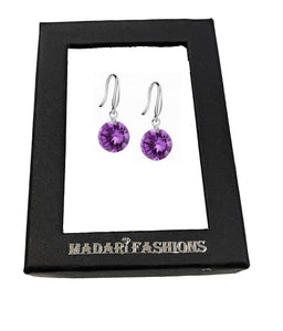 MADARI FASHIONS - Brilliant Round Dangles