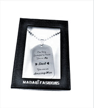 Load image into Gallery viewer, MADARI FASHIONS - Father Daughter Keychain Necklace Set and more