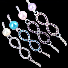 Load image into Gallery viewer, MADARI FASHIONS - Eternity Bracelet Accented with Fresh Water Pearl