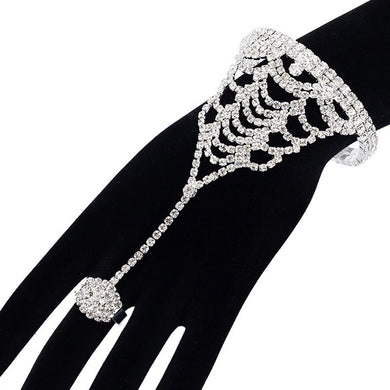 MADARI FASHIONS - Royal Tear Drop Ring Bracelet