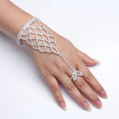 MADARI FASHIONS - Leaf Ring Bracelet