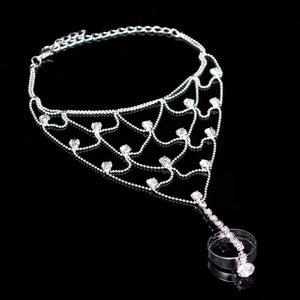 MADARI FASHIONS - Net Ring Bracelet