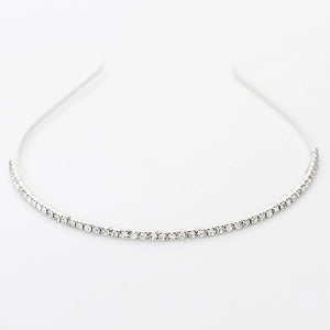 MADARI FASHIONS - Channel Prong Set Crystal Tiara