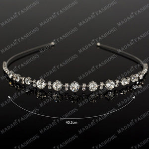 MADARI FASHIONS - Crystal Tiara