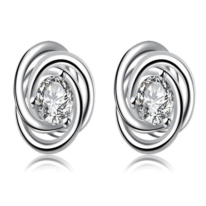 MADARI FASHIONS - Rose Stud Earring