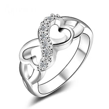 Load image into Gallery viewer, MADARI FASHIONS - Infinity SS Ring