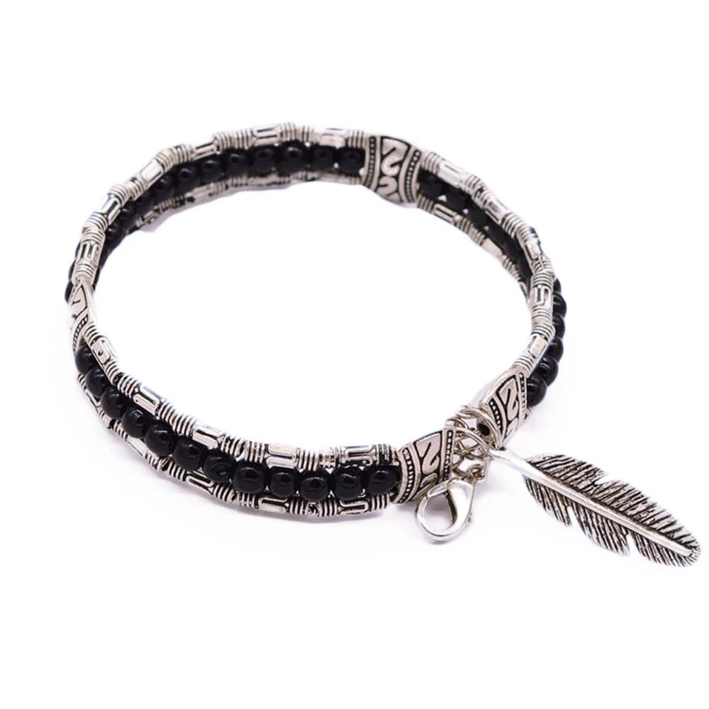 MADARI FASHIONS - Native Hawaiian Bohemian Leaf Bracelet