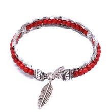 Load image into Gallery viewer, MADARI FASHIONS - Native Hawaiian Bohemian Leaf Bracelet